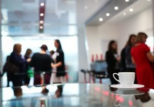 coffee break, conference, engagement postponed events
