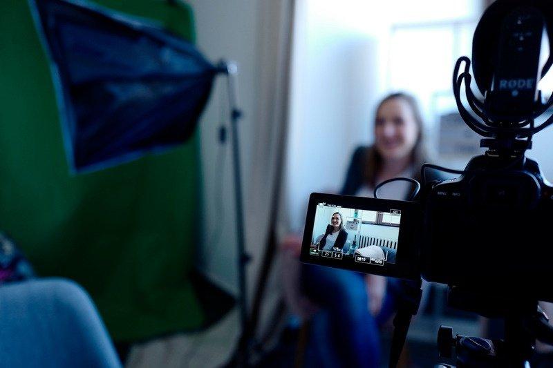 online interview virtual event