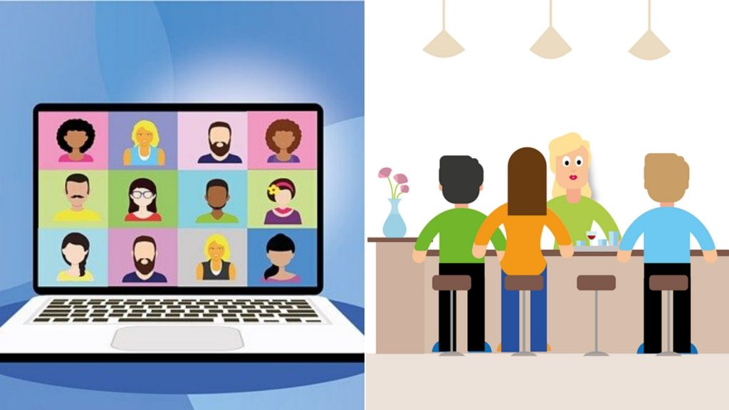 Virtual event, in person event, face to face meeting, attendees, what attendees want